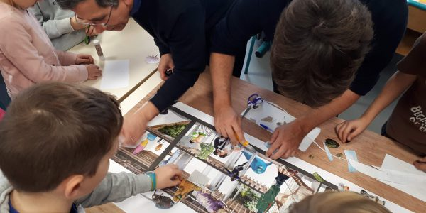 Atelier architecture_école A.Vincent Treillières