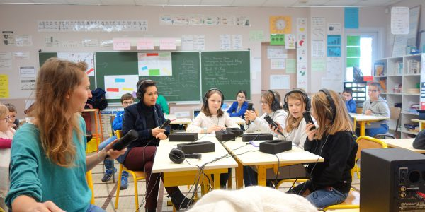 Atelier journalisme_rencontre avec des élus_Héric